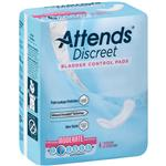 ADPMOD - Attends Discreet Moderate Pads, 20 count (x10) - Attends Discreet Moderate pad was designed to keep active use