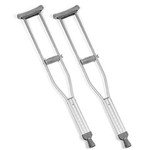 Invacare Crutches - Invacare® Quick-Change Crutches offer a solid one-piece crut