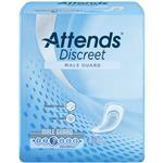 ADMG20 - Attends Discreet Male Guards, 20 count (x6) - Attends Discreet Male Guard provides discreet protection from